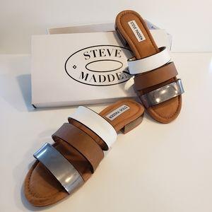 Brand new Steve Madden Tusso multi color sandal